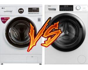 Какую стиральную машину выбрать LG или Haier