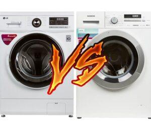 Какую стиральную машину выбрать Siemens или LG