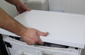 Как открыть верхнюю крышку стиральной машины Ардо?