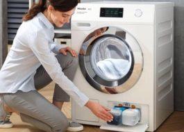 Как пользоваться стиральной машиной Миле?