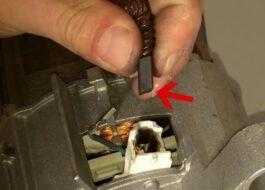 Как поменять щетки на стиральной машине Siemens?