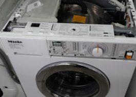 Неисправности стиральных машин Миле