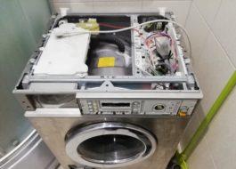 Разборка стиральной машины Miele