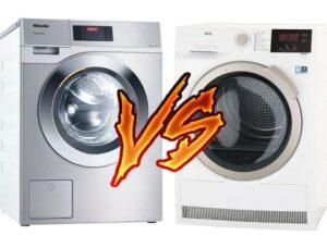 Что выбрать, стиральную машину AEG или Miele