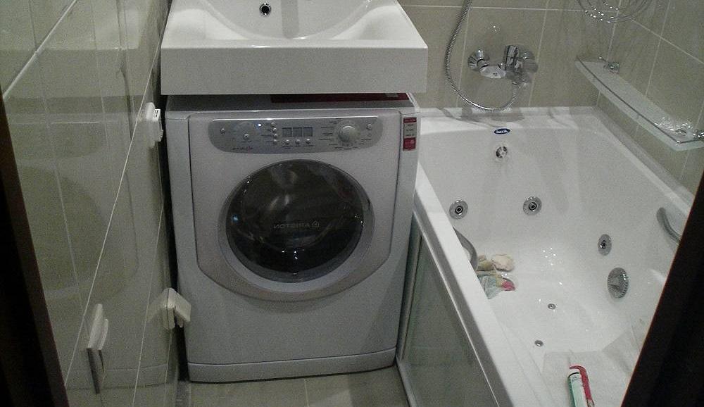 место установки стиральной машины