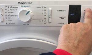 Включение стиральной машины Gorenje