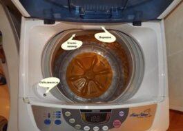 Использование стиральной машины Дэу