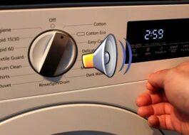 Как отключить звуковой сигнал на стиральной машине Siemens?