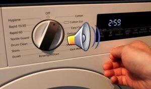 Как отключить звуковой сигнал на стиральной машине Siemens