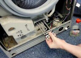 Как поменять ТЭН на стиральной машине Vestel?