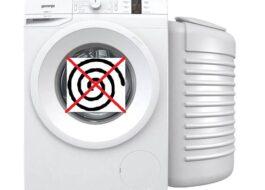 Не работает отжим стиральной машины Gorenje