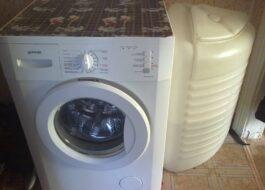 Обзор стиральной машины Gorenje для сельской местности