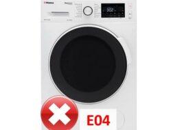 Ошибка E04 в стиральной машине Hansa