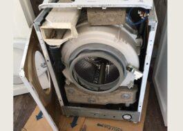 Разборка стиральной машины Hansa