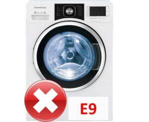 Стиральная машина Daewoo выдает ошибку E9