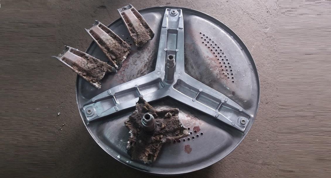 разрушена крестовина стиральной машины