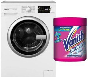 Как использовать Ваниш в стиральной машине