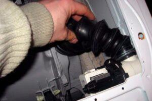 Как поменять патрубок в стиральной машине