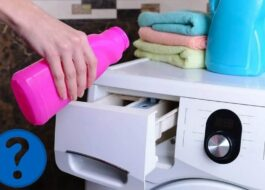 Куда лить Ваниш в стиральной машине?