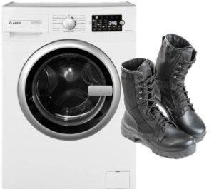 Можно ли постирать берцы в стиральной машине