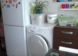 Можно ли устанавливать стиральную машину рядом с холодильником?