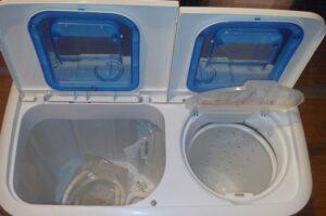 Почему не работает отжим в стиральной машине полуавтомат