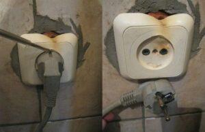 Почему плавится розетка от стиральной машины