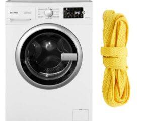 Стирка шнурков в стиральной машине