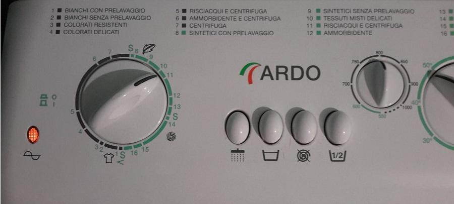 стиральная машина на итальянском