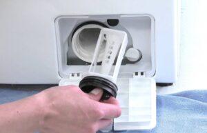 Где расположен фильтр в стиральной машине