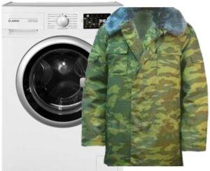 Как постирать бушлат в стиральной машине