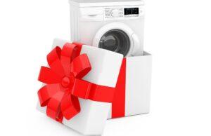 Как прикольно подарить стиральную машину на свадьбу