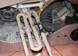 Как узнать, что сгорел ТЭН в стиральной машине и починить?
