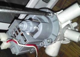 Не работает сливной насос в стиральной машине