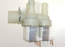Ремонт клапана подачи воды в стиральной машине