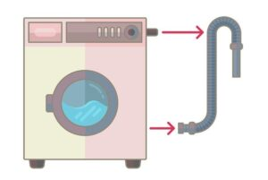 Самослив стиральной машины