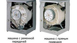 Виды приводов стиральных машин