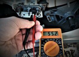 Какое сопротивление термодатчика стиральной машины?