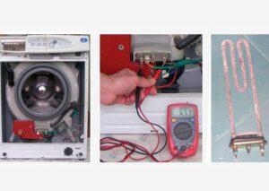 При нагреве воды стиральная машина отключается