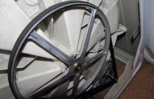 Свистит приводной ремень стиральной машины
