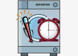 Сколько времени нагревается вода в стиральной машине?