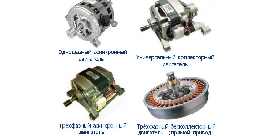 какими бывают моторы на СМ