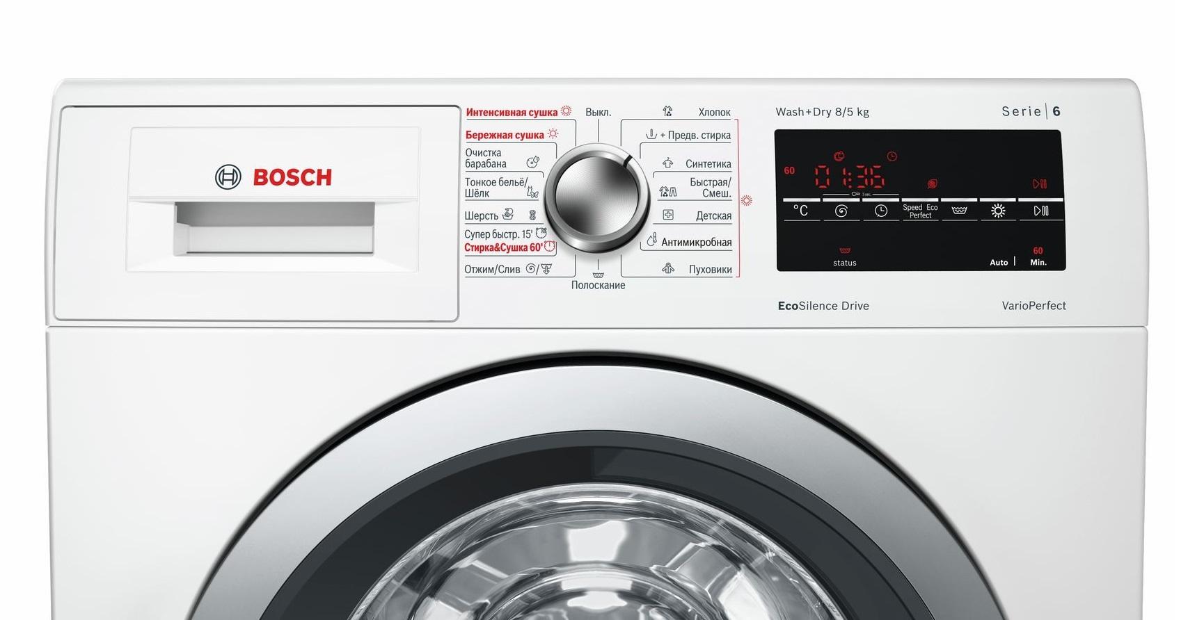 лучшие стиральные машины от Бош