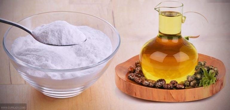 растительное масло и сода против загрязнения