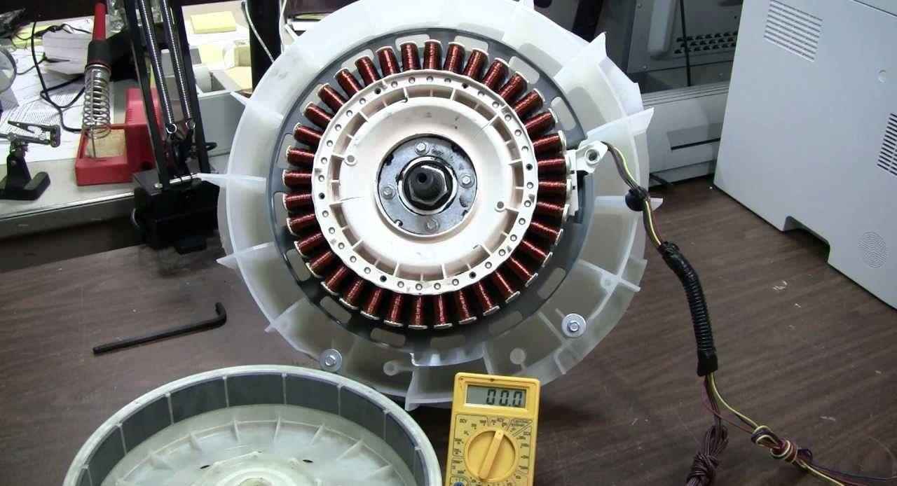 ремонт инверторного двигателя
