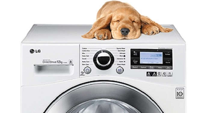тихая работа стиральной машины