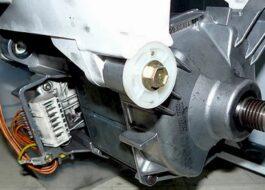 Как заменить двигатель стиральной машины?