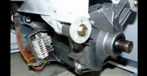 Как заменить двигатель стиральной машины