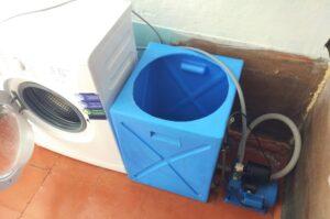 Как подключить стиральную машину к бочке с водой