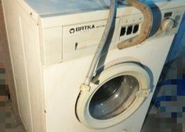 Ремонт стиральной машины Вятка-автомат своими руками